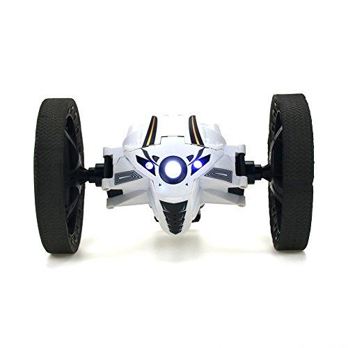 Preisvergleich Produktbild RC Spielzeuge Car Stunt Auto Ferngesteuerte Fahrzeuge mit Licht and Sound Modellfahrzeuge mit Funktion USB Ladelkabel Weiß