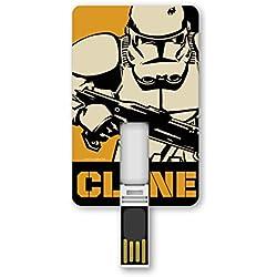 Tribe STAR WARS Stormtrooper-Chiavetta USB Flash 8192 MB