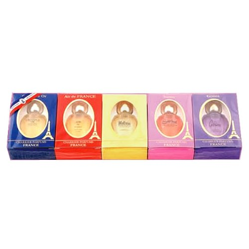 Charrier Parfums - Pack-cadeau 5 Parfums Charrier 'Collection de France' 42,5ml