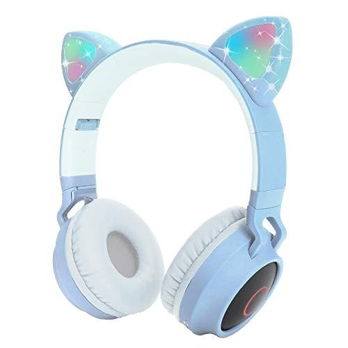 ¡Nuestros auriculares Yurlgst siempre están listos para impresionar con ESTILO y CONVENIENCIA, brindando más diversión a sus hijos durante el uso diario!Luz de flash LED Cat EarLos auriculares con oreja de gato con luz de flash LED. El led de oreja d...