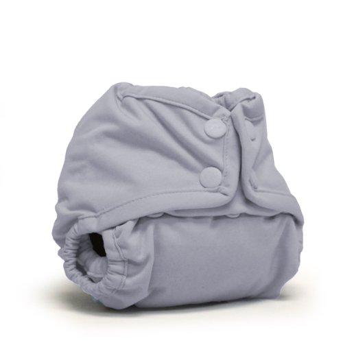Rumparooz Newborn Snap Cloth Diaper Cover, Platinum Test