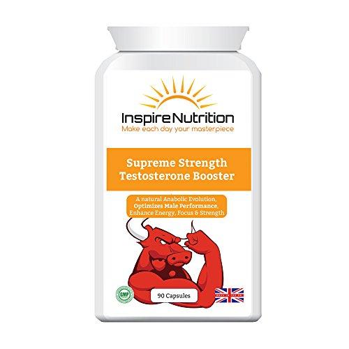 Supreme Strength Testosteron Booster-stärkste natürliche Testosteron Booster, für ultimative Kraft und Muskelwachstum, steigern Ausdauer und Energie-Levels-110% Geld-zurück-Garantie
