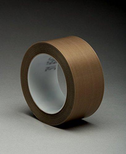 3M 7000029153 Glasgewebeklebeband, 5451, 50,8 mm x 33 m, 0,14 mm, Braun/Transparent (6-er Pack)