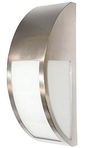 Stainless Steel Wall Light Pillar Light, Front Door Side, Light Garden Wall Light IP44 ZLC032