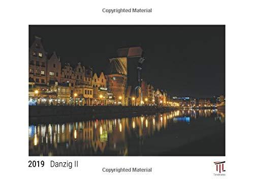 Danzig II 2019 - White Edition - Timocrates wall calendar, picture calendar, photo calendar - DIN A3 (42 x 30 cm)