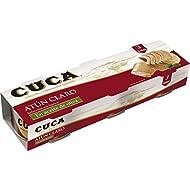 Cuca Atún Claro en Aceite de Oliva - Paquete de 3 x 92 gr - Total: 276 gr