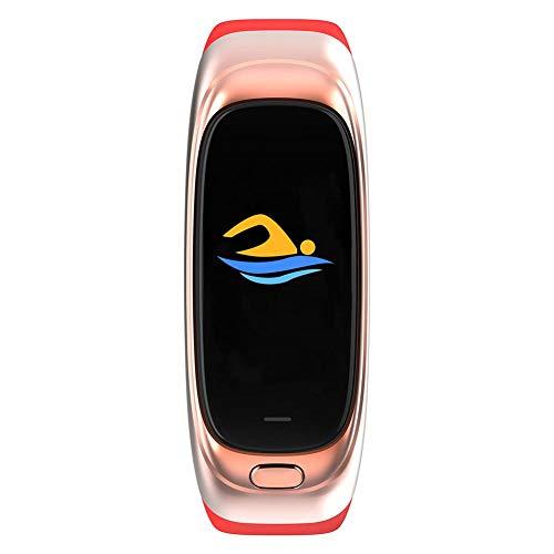 xuanyang524 CES12 Fitness Tracker Smart Armband mit 32G USB-Stick-Speicher, Remote Taking Photo Music Control-Armband, IP67 Wasserdichtes Smart Armband für Frauen und Männer sweetie