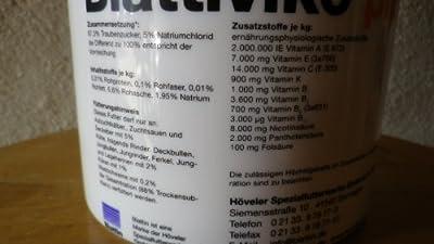 Blattiviko plus Vitamin-Ergänzer für Rinder Schweine Hühner 1 Kg Blattin/Höveler von Blattin Höveler - Du und dein Garten