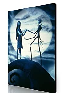 LARGE NIGHTMARE BEFORE CHRISTMAS CANVAS GALLERY STYLE 30x20 INCHES A1