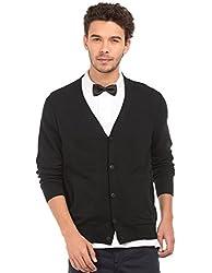 Nautica Mens Cotton Sweater (8907378791689_NTS636050TB_Large_True Black)