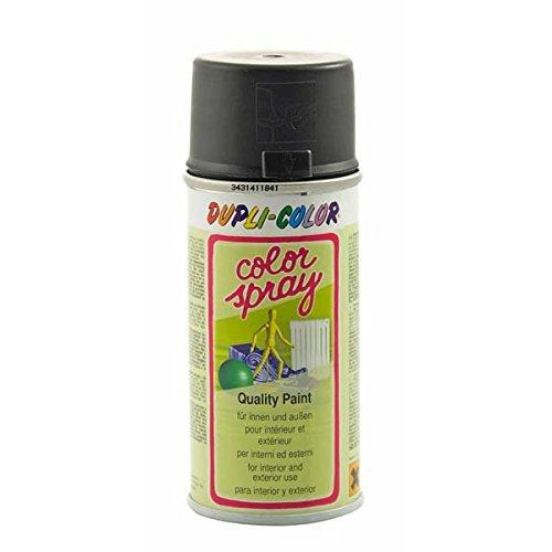 felgen lackspray Dupli Color 640629 Color-Spray, 150 ml, Schwarz Matt