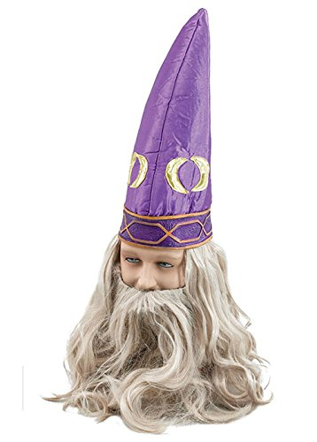 Dumbledore Bart Kostüm (Fancy Dress-Assistent Hat mit)