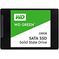 Western Digital WDS120G2G0A WD 120 GB Internal SSD 2.5 Inch SATA, Green