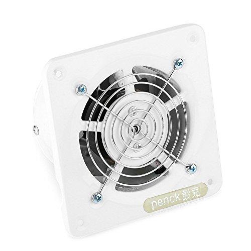 Eboxer 25W 220V 7 Zoll an der Wand befestigter Abluftventilator lärmarmes Hauptbadezimmer-Küchen-Garagen-Belüftungsöffnungs-Belüftung für Wohnung - Küche Abluftventilator