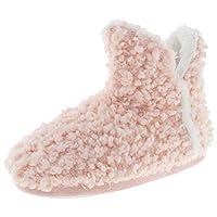 Capelli New York Ladies Woven Knit Slipper Boot Orange Size: XS