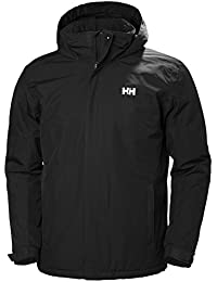 Helly Hansen Dubliner Insulated Jacket Chaqueta Impermeable Rell, Hombre, Negro (Black), M