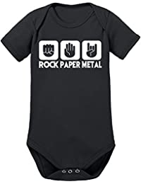 Touchlines Unisex Baby Body Rock Paper Metal