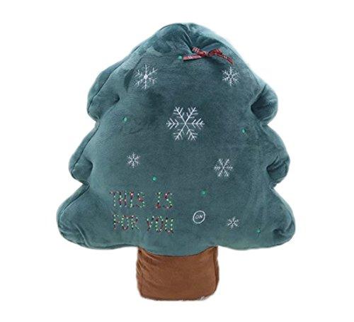 Westeng Weihnachtsbaum Nette Plüschtiere Kissen Weihnachtsgeschenk Home Decoration Kissen 3D Weihnachten Dekoration Kissen