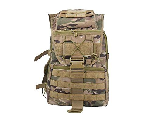 Yy.f Im Freien Taktischen Rucksack Militärrucksack Camping Wandern Und Wasserdicht 20-35L Trekking. 3 Farben Yellow