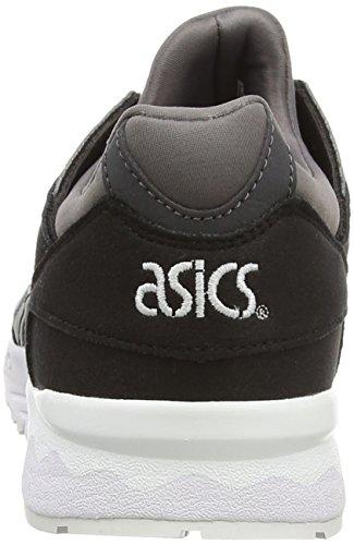 ASICS Gel-Lyte V Gs - Scarpe da Ginnastica Basse Ragazzi Nero (Black/Medium Grey 9012)