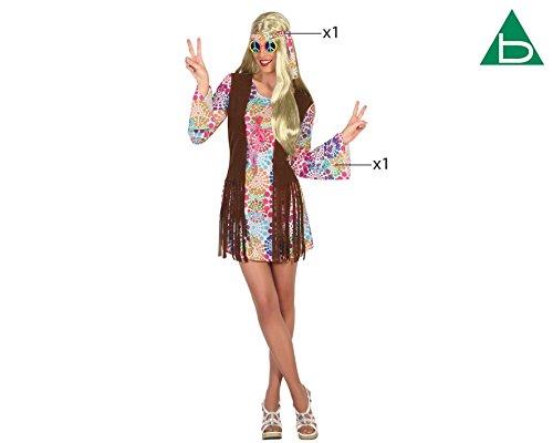 Imagen de atosa 16363–hippie, disfraz de mujer, tamaño m–l, 38/40 alternativa