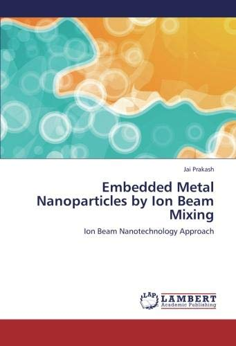 Embedded Metal Nanoparticles by Ion Beam Mixing: Ion Beam Nanotechnology Approach