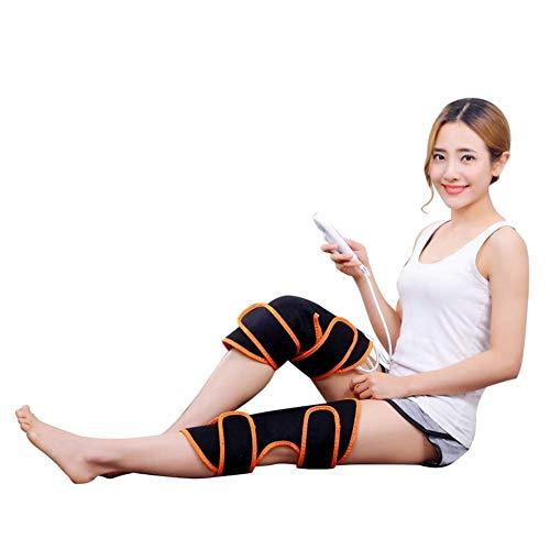ROLL Massieren Beheizte Knieorthese Wrap, Wärme und Massage, Heizkissen Wrap for Knieverletzung, Cramps Arthritis Erholung, Massageeinrichtungen for Muskeln Schmerzlinderung Relax