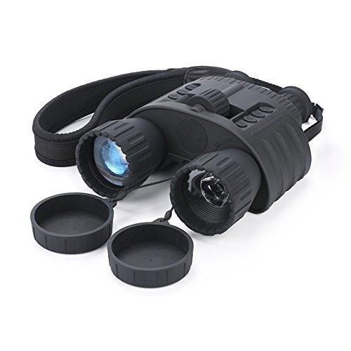 Infrarrojos Visión Nocturna prismáticos qiyat 4x 50HD Digital de caza por infrarrojos telescopio con pantalla TFT LCD de 1,5pulgadas, 980m/300M...