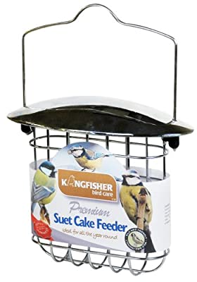 Kingfisher BF022 Deluxe Suet Cake Feeder by Bonnington Plastics Ltd