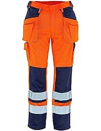 "Mascot Handwerkerhose ""Almas"", 1 Stück, L82cm/C47, orange/marineblau, 09131-860-141-82C47"