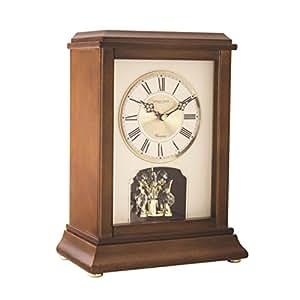 Bois fonc horloge de chemin e avec carillon westminster for Pendule de cuisine amazon
