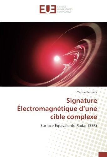 Signature Électromagnétique d'une cible complexe PDF