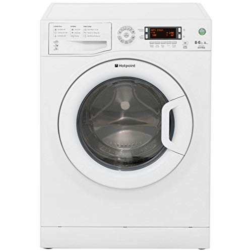 Hotpoint WDXD8640P Freestanding A Rated Washer Dryer - White