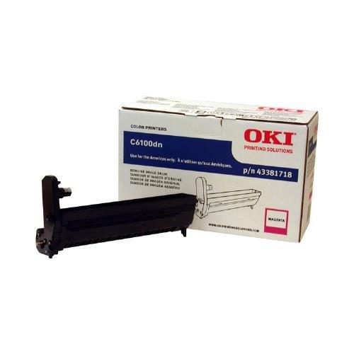 C6100-serie Magenta Toner (OKI43381718 - Oki Magenta Image Drum Kit For C6100 Series Printers by OKI)