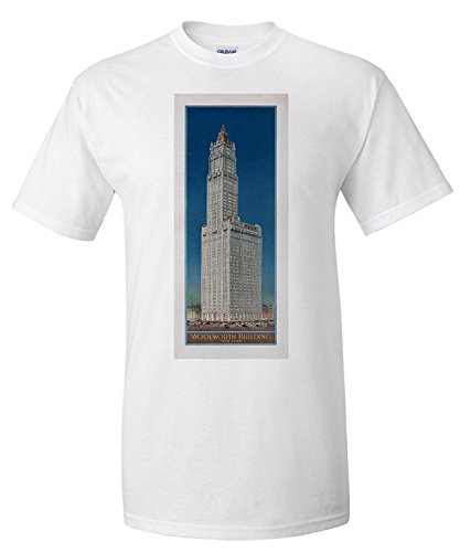 woolworth-building-new-york-vintage-poster-usa-c-1913-premium-t-shirt