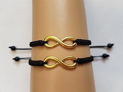 Bracelets Couples à l'infini.