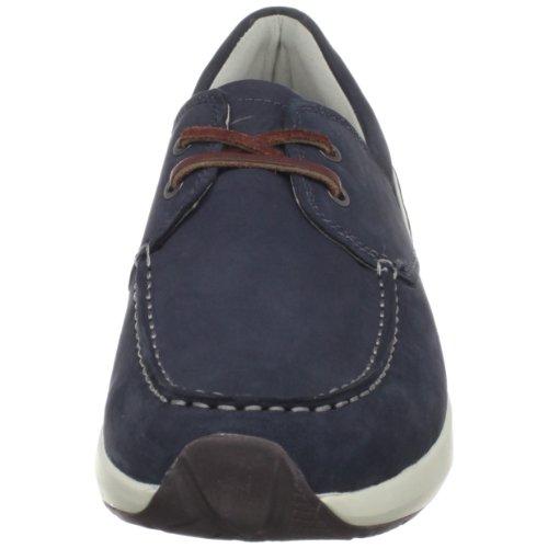 MBT , Chaussures de ville à lacets pour homme Bleu - Bleu marin azur