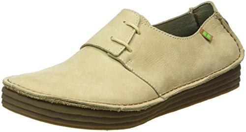 El Naturalista Nf80 Pleasant Rice Field, Zapatos de Cordones Derby para Mujer, Gris Piedra, 39 EU