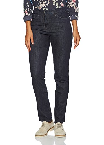 BRAX Mary Crystal Romance Damenjeans: Slim Fit Jeans im 5-Pocket-Style, Blau (Clean Raw Blue 22), Gr. W31/L34 (Herstellergröße: 40L) -