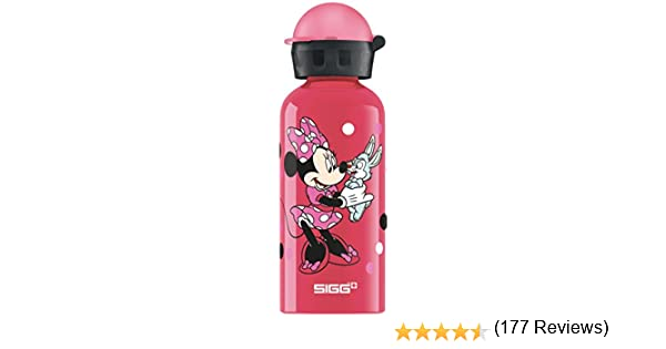 Rosa Borraccia dAcqua Bambina 0.4 L Sigg Minnie Mouse