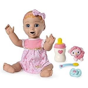 Luvabella Blonde 6044112 - Muñeca de bebé (versión importada, en inglés)