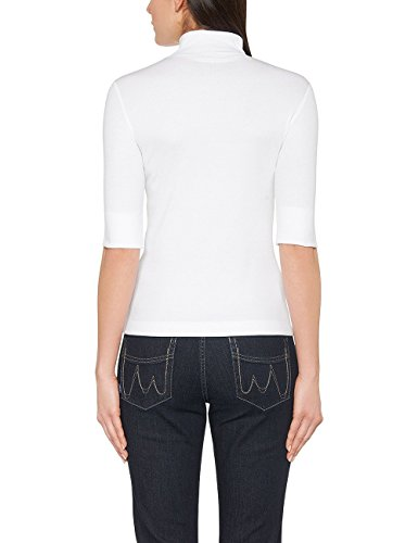 Marc Cain Essentails Damen T-Shirt +E 48.04 J50. Weiß (White 100)