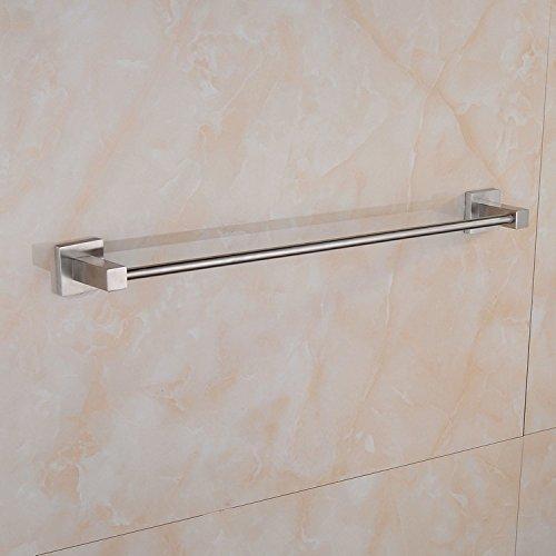 BBSLT Salvietta singola barra 304 spazzolato acciaio inossidabile. Accessori per