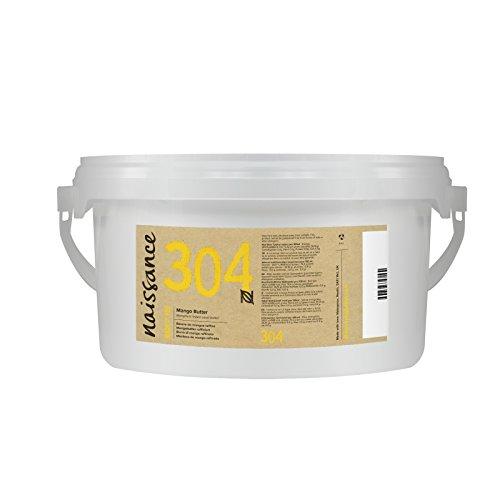Naissance Mangobutter, raffiniert 1kg (1000g) (Mango-butter Seife)
