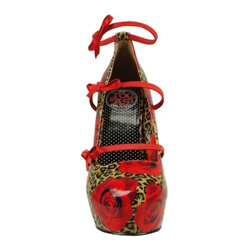 Too Fast Brand, Scarpe col tacco donna Rosso (rosso)