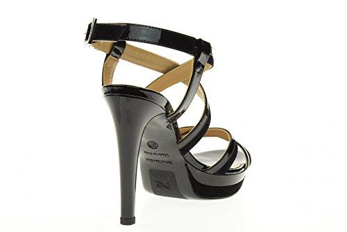 NERO GIARDINI scarpe donna sandalo P717871DE/100 Nero