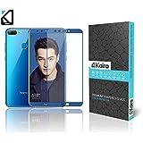 KAIRA Huawei Honor 9 Lite,Huawei Honor 9 Lite Edge To Edge 5D Full Scree Coverage Ultra HD Amazing Premium Tempered Glass For Huawei Honor 9 Lite. (Blue)