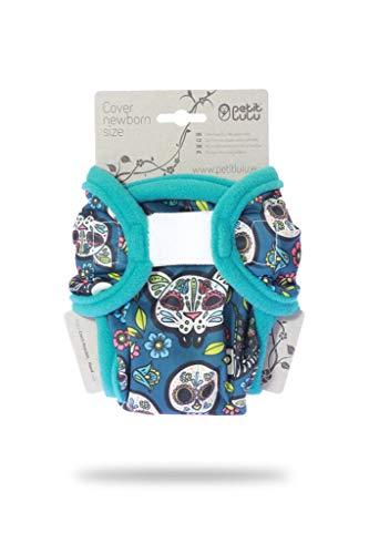 Petit Lulu recién nacidos cubrepañales (2-6KG) para pañales de tela Velcro