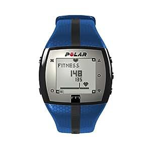 polar herzfrequenz messger t fitness uhr blau schwarz 90054893 sport freizeit. Black Bedroom Furniture Sets. Home Design Ideas