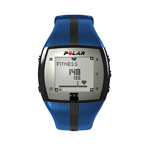 Polar FT7 Cardiofrequenzimetro, Resistente all'Acqua - 30 M, Taglia Unica, Blu/Nero